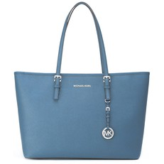 Kabelka Michael Kors Jet Set Travel Medium TZ Mult Funt Tote denim