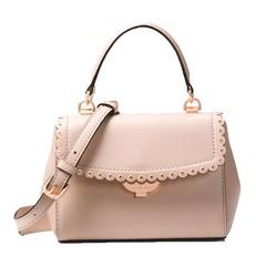 Kabelka Michael Kors Ava Extra-Small Scalloped Leather Crossbody soft pink