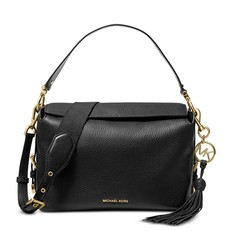 Kabelka Michael Kors Brooke Medium Pebbled Leather Satchel