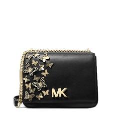 Kabelka Michael Kors Mott Large Butterfly Embellished Leather Crossbody