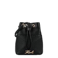 Kabelka Karl Lagerfeld K/Signature Quilted Bucket