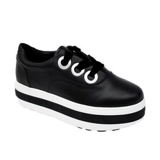 Obuv Karl Lagerfeld Plateau Leather Trainer
