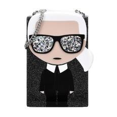 Kabelka Karl Lagerfeld Ikonik Minaudiere Clutch