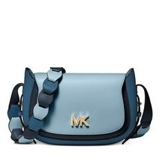 Kabelka Michael Kors Jolene Small Tri-Color Leather Saddle modrá
