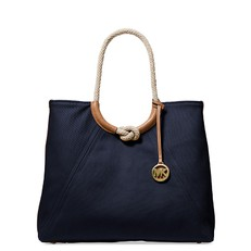 Kabelka Michael Kors Isla Ring Shoulder navy