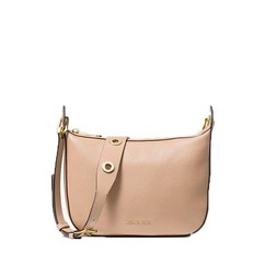 Kabelka Michael Kors Barlow Medium Pebbled Leather Messenger oyster