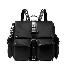 Batoh Michael Kors Olivia Medium Studded Satin Backpack