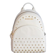 Kabelka Michael Kors Abbey Medium Stud Backpack vanilla