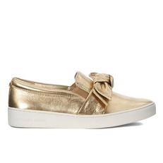Boty Michael Kors Willa Slip-On Sneaker zlaté