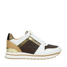 Obuv Michael Kors tenisky Billie Leather And Logo Trainer
