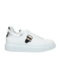 Obuv Karl Lagerfeld Kapri Karl Ikonic bílé/stříbrná