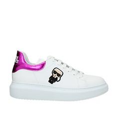 Obuv Karl Lagerfeld Kapri Karl Ikonic bílé/růžová