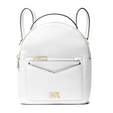 Kabelka Michael Kors Jessa Extra Small Pebbled Leather Convertible Backpack optic white