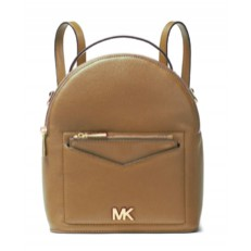 Kabelka Michael Kors Jessa Small Pebbled Leather Convertible Backpack acorn