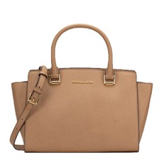 Kabelka Michael Kors Selma Medium TZ Satchel dark khaki