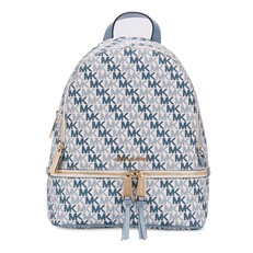 Kabelka Michael Kors Rhea Medium Backpack Signature optic white