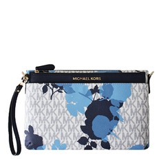 Kabelka Michael Kors Jet Set Travel Floral Messenger vanilla/navy