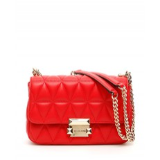 Kabelka Michael Kors Sloan Small Quilted Leather Crossbody bright red