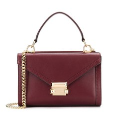 Kabelka Michael Kors Whitney Small Convertible Shoulder oxblood