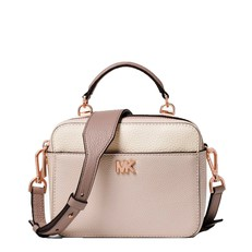 Kabelka Michael Kors Mott Mini Color-Block Pebbled Leather Crossbody