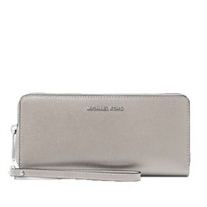 Peněženka Michael Kors Jet Set Travel Continental pearl grey
