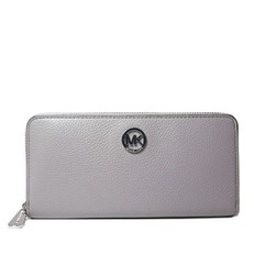 Peněženka Michael Kors Fulton Leather Continental pearl grey
