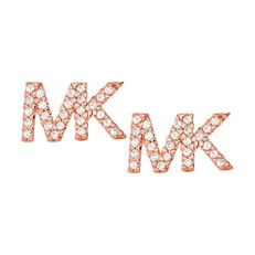 Naušnice Michael Kors růžovozlaté