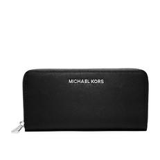 Peněženka Michael Kors Jet Set Saffiano Continental černá