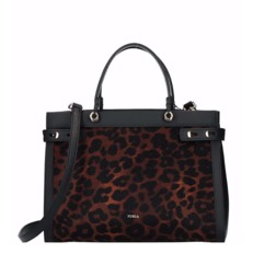 Kožená kabelka Furla Lady M Tote M Toni