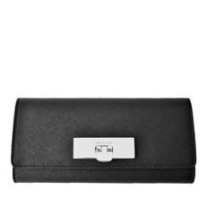 Peněženka Michael Kors Callie Saffiano Flap Wallet