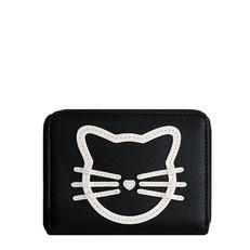 Peněženka Karl Lagerfeld K/Sphynx Choupette Small Zip Wallet
