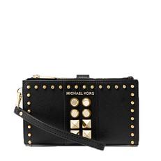 Peněženka Michael Kors Adele Studded Saffiano Leather Smartphone Wallet