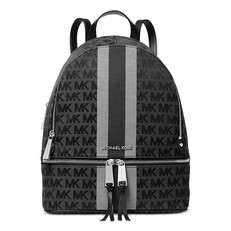 Kabelka batoh Michael Kors Signature Stripe Rhea Backpack