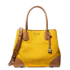 Kabelka Michael Kors Mercer Gallery Medium Canvas Satchel yellow