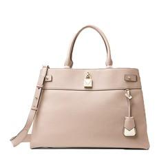 Kabelka Michael Kors Gramercy Large Leather Satchel soft pink