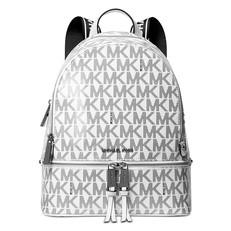 Kabelka batoh Michael Kors Signature Rhea Glossy Backpack