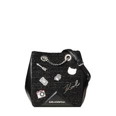 Kabelka Karl Lagerfeld K/Klassik Pins Bucket