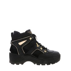 Obuv Michael Kors Brooke Metallic Leather and Scuba Boot