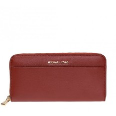 Peněženka Michael Kors Crossgrain Leather Continental Wallet brandy