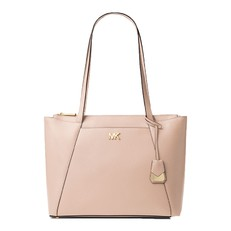Kabelka Michael Kors Maddie Large Leather Tote soft pink