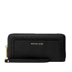 Peněženka Michael Kors Lexington Large Pebbled Leather Continental Wristlet