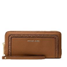 Peněženka Michael Kors Lexington Large Pebbled Leather Continental Wristlet luggage
