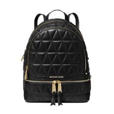 Kabelka batoh Michael Kors Rhea Medium Quilted Leather Backpack