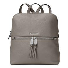 Kabelka batoh Michael Kors Rhea Medium Slim Backpack pearl grey