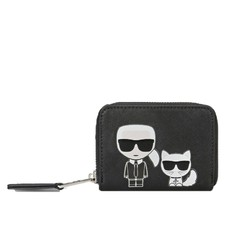 Peněženka Karl Lagerfeld K/Ikonik Small Zipper Wallet