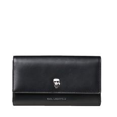 Peněženka Karl Lagerfeld K/Ikonik Pin Flap Wallet