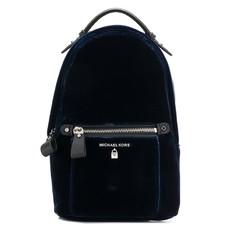 Batoh Michael Kors Kelsey Small Velvet Backpack navy