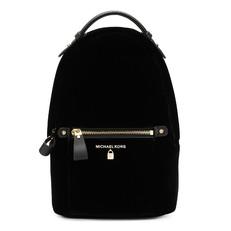 Batoh Michael Kors Kelsey Small Velvet Backpack černá