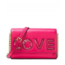 Kabelka Michael Kors Ruby Medium Clutch Love ultra pink