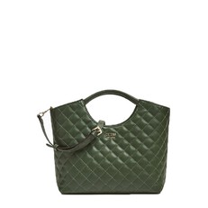 Kabelka Guess Miriam Quilted Pochette Shopper